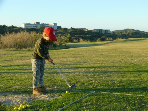 Future Occasional Golfer or Professional?