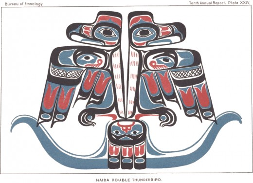 Haida double thunderbird.
