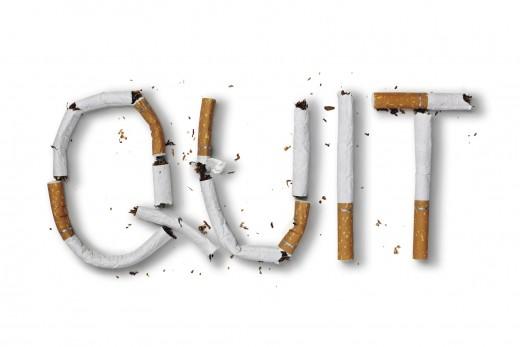 Stop smoking and stop spending