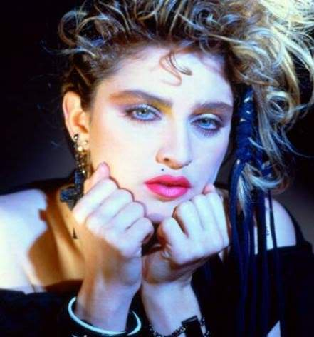 Madonna was an early trendsetter of the 80s.