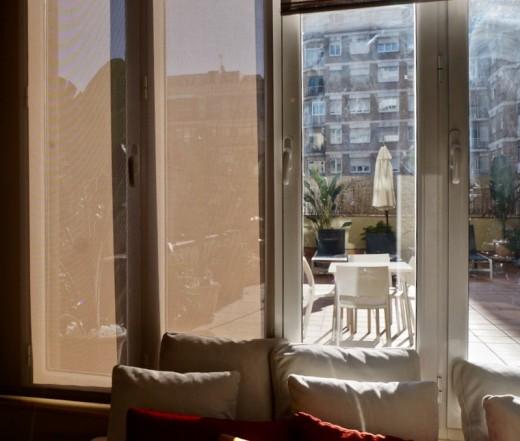 The Tiny Bedroom for Guest in Erik Vokel Gran Via, Barcelona