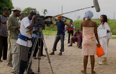 A Nollywood movie location