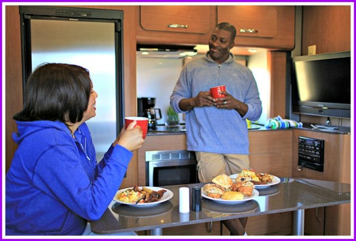 RV travel offers many amenities and comforts to people who choose this mode of transportation.