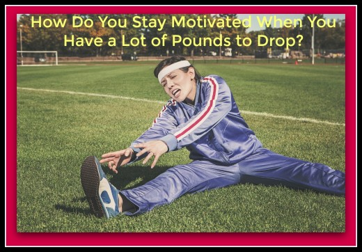 Staying motivated during your weight-loss journey is essential. We all have busy lives that sidetrack us from reaching our goal.