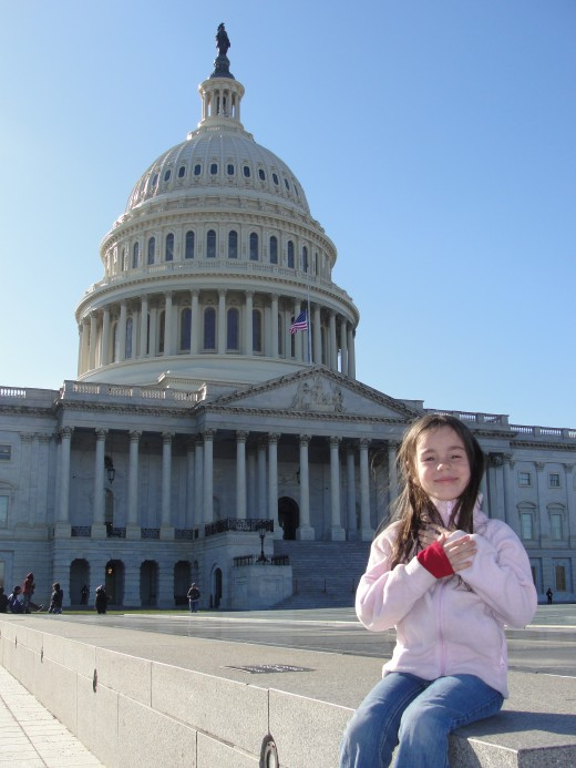 Visiting the Capitol