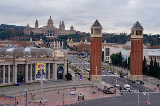 Closest Attraction to Erik Vokel in Gran Via: Plaza Espanya