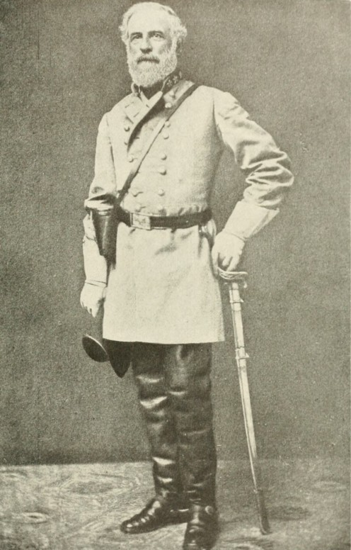 General Robert E. Lee, 1863 File from The Photographic History of The Civil War in Ten Volumes: Volume Two, Two Years of Grim War. The Review of Reviews Co., New York. 1911. p. 240.