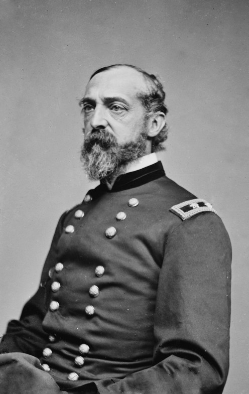 General George Meade, between 1855 and 1865 Library of Congress Prints and Photographs Division. Brady-Handy Photograph Collection. http://hdl.loc.gov/loc.pnp/cwpbh.01199. CALL NUMBER: LC-BH82- 4430
