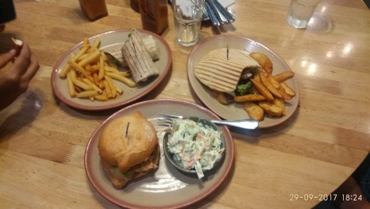 So, this happened one night at Nando's.