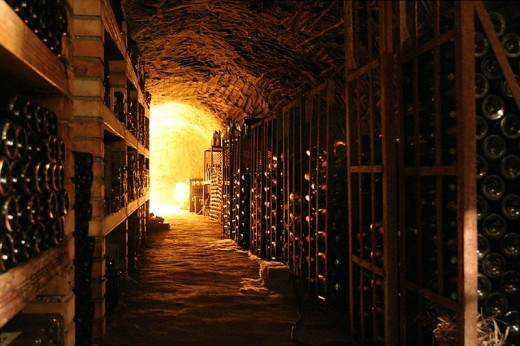 A wine cellar such as this would easily attract a moniacello or clurichaun.