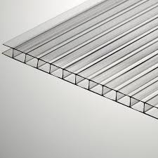 One type of corrugated Lexan.