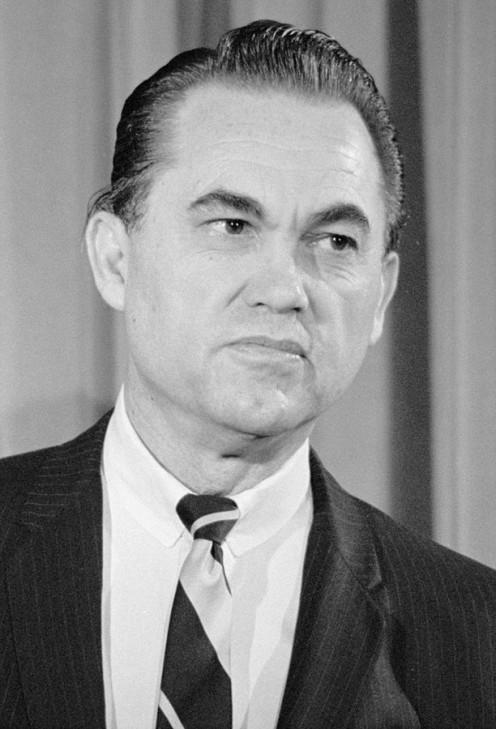 George C. Wallace Alabama Governor.