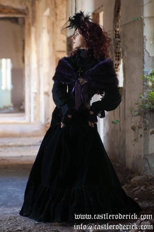 Victorian dresses are elegant and gothic.