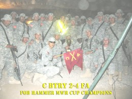 MWR Cup Winners FOB Hammer 2007