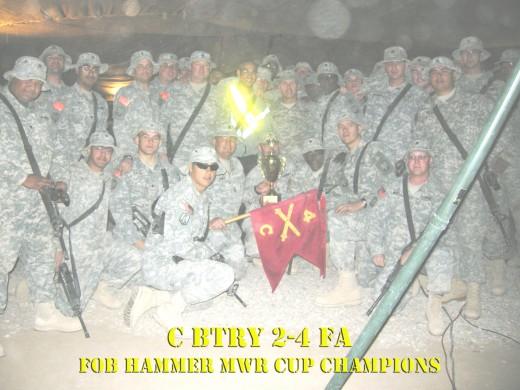 MWR Cup Winners FOB Hammer 2007