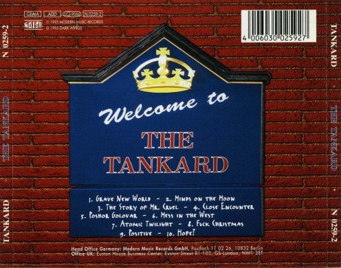 "Welcome to more than just ""The Tankard."" This is an enjoyable album that focuses on lyrical themes that matter to all human beings."