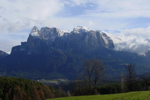 Schlern, one of the famous mountains of South Tyrol
