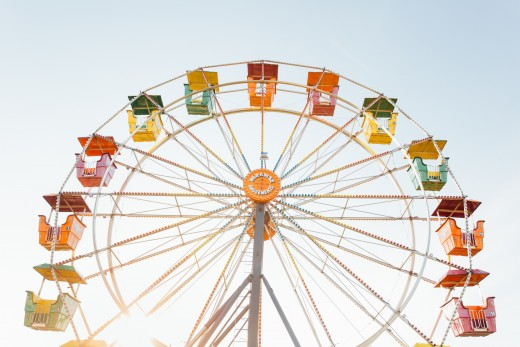 Being pregnant can feel like an amusement park ride.