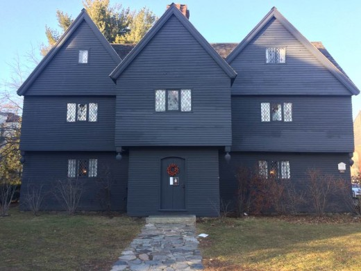 The Witch House in Salem, MA has direct ties to the Salem Witch Trials. No wonder it's haunted.