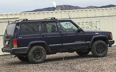Riley Carlson's Jeep Cherokee Sport was found abandoned in Nevada
