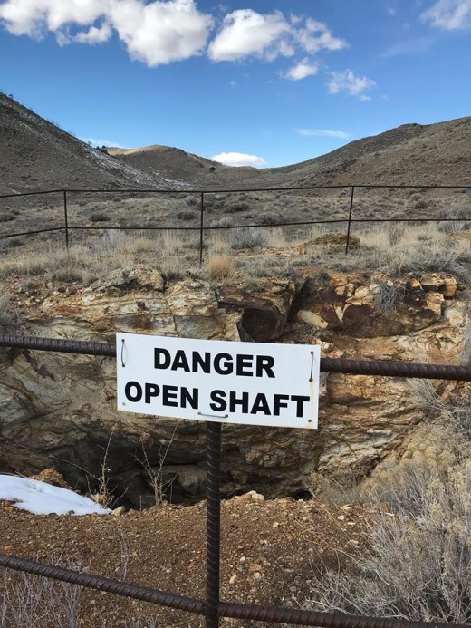 Mines in the area have been searched by volunteers and law enforcement.