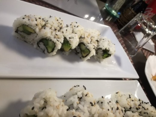 Vegetarian sushi is a great variant of the traditional recipe based on raw fish