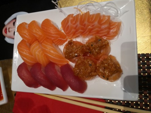 Color, consistence and taste of raw fish are very important parameters to consider in order to understand its quality