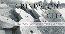 How Technology Wiped Out Michigan's Grindstone City