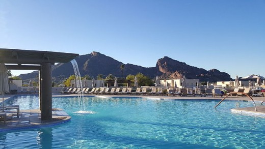 The Pool at the JW Marriott Camelback