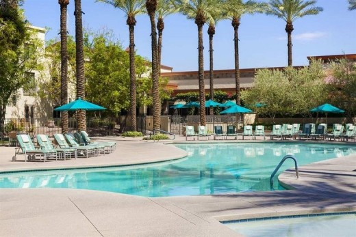Luxury Pool at Hilton Scottsdale Resort & Villas