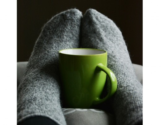 When you hands and feet are warm and cozy you can enjoy cold winter weather.