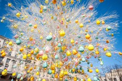 The Easter Gift Festival in Moscow
