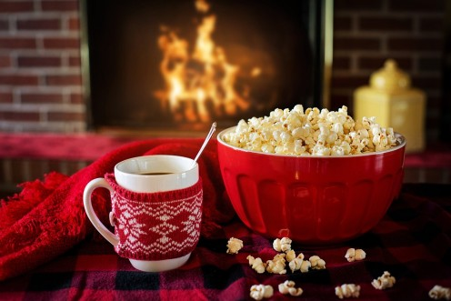 Popcorn for a winter's night.