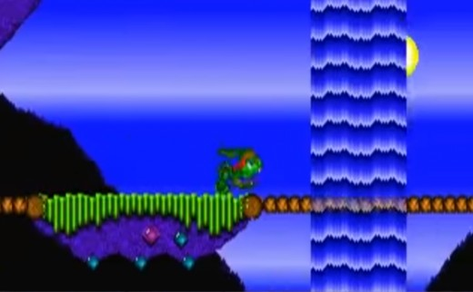 A screenshot of the first game.