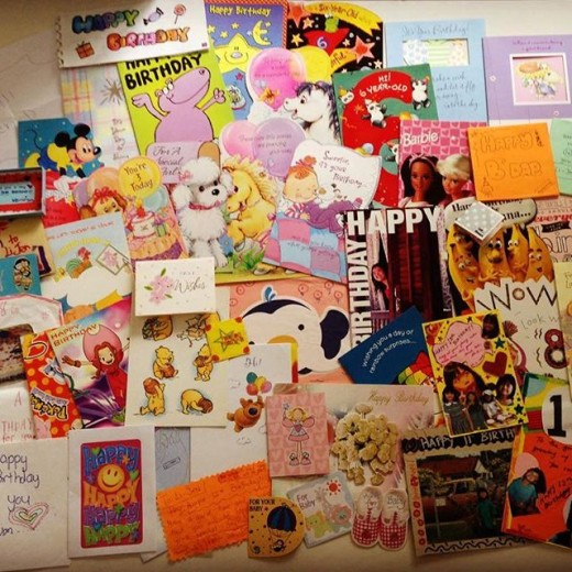 Old Birthday Cards