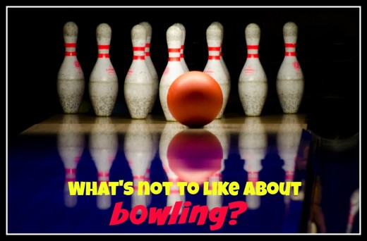 The goofy shoes, the sticky floors, the bad pizza, and the interesting people...what's not to like about a first date at the bowling alley?