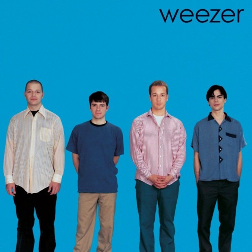"""Weezer"" by Weezer, also known as ""the Blue Album"""