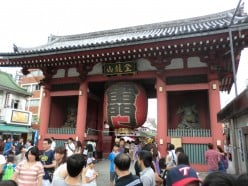 Kaminarimon Gate, Senso-ji Temple and the Best Fortune