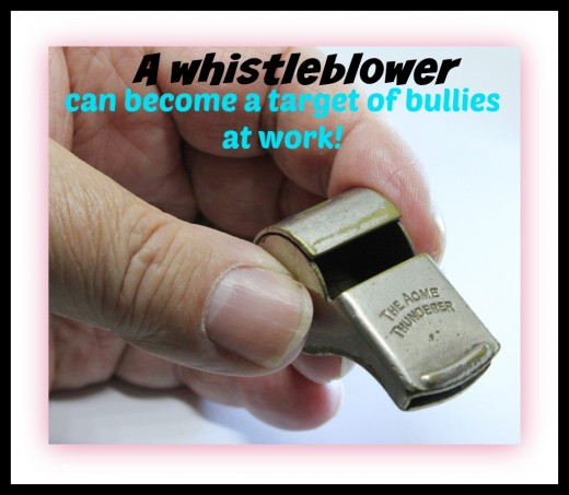 Whistleblowers face a lot of harassment and hostility for doing the right thing. Whistleblowers and others with integrity are often victims of bullying.