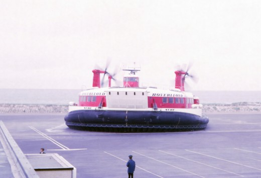 The Defunct Cross-Channel Hovercraft in 1970