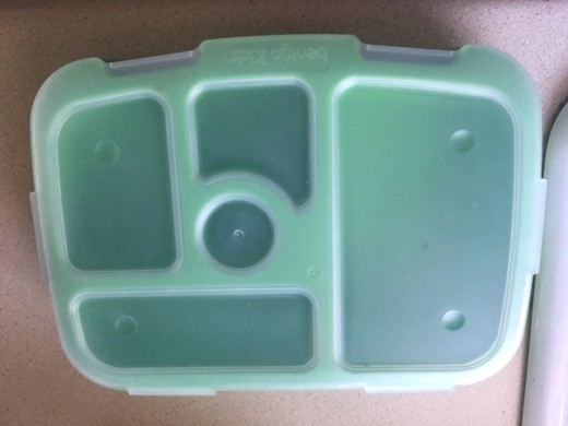 The Bentgo Kids Tray is a great affordable bento box to use for children's lunches.