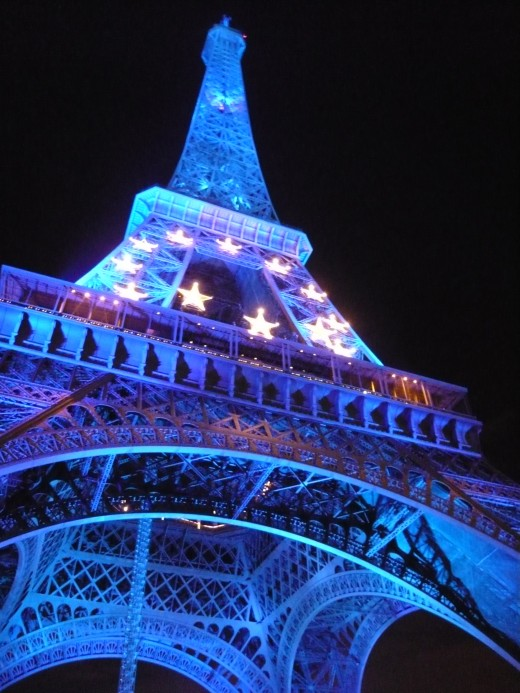The Eiffel Tower at Night 2008