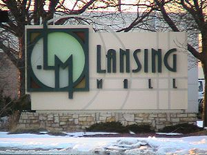 Lansing Mall entrance: the next phase of American retailing