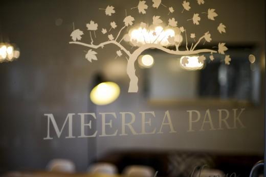 Meerea Park Sign.