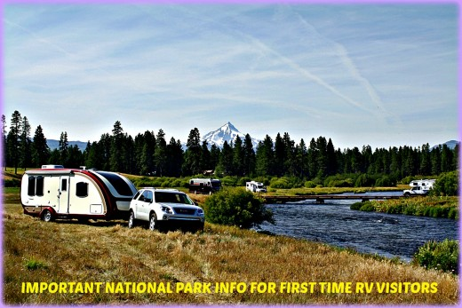 Basic information for new RV owners who want to visit one or more National Parks this year.