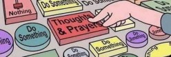 The Legacy of Thoughts and Prayers: How Many People Have Come to See the Phrase and Religion