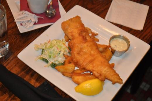 Fish Dinner (Cod)
