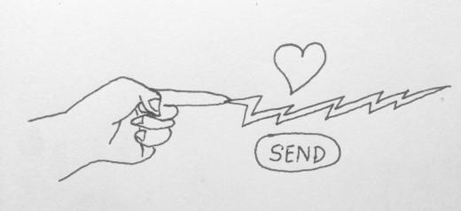 Heart Touching vs Button Touching