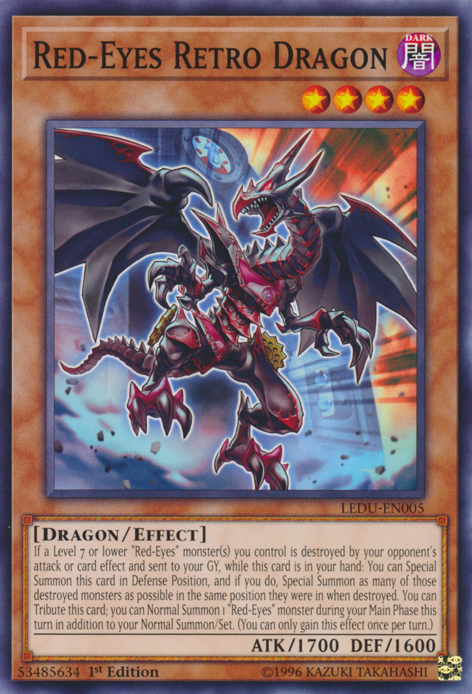 Red-Eyes Retro Dragon