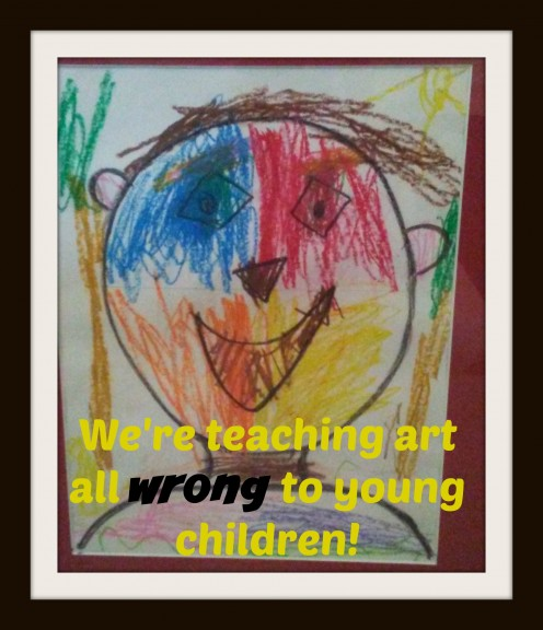 Killing Our Kids' Creativity: How We're Teaching Art All Wrong to Our Young Children